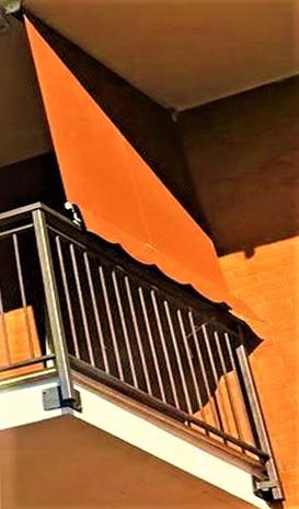 Eclisse Tende - tenda a caduta